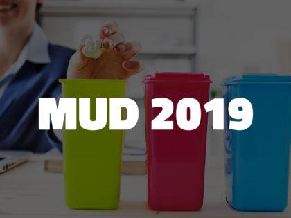 Modalità di presentazione, scadenza e soggetti obbligati alla presentazione del MUD 2019