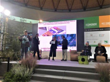 L'app Riciclario riconosciuta tra le dieci innovazioni più importanti per l'economia circolare del 2019