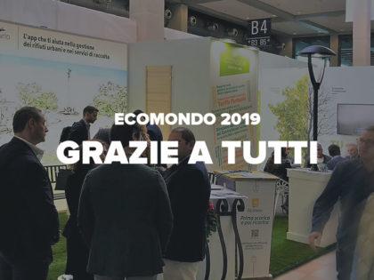 Ecomondo 2019. Grazie a tutti