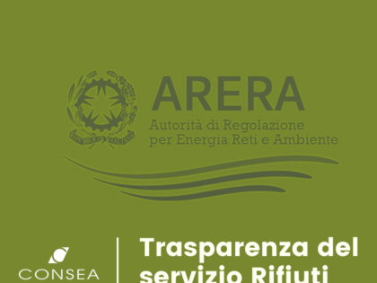 ARERA: trasparenza del servizio Rifiuti entro il primo luglio 2020