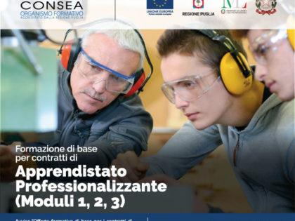 Apprendistato professionalizzante: in partenza le attività di formazione